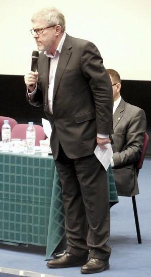 Встреча Явлинского в Петербурге. Фото со страницы ФБ https://www.facebook.com/visboris