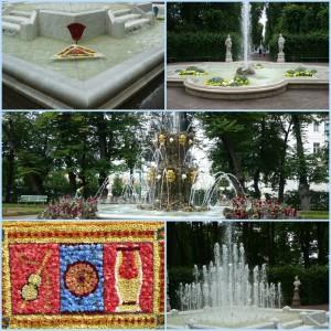 фонтаны летний сад