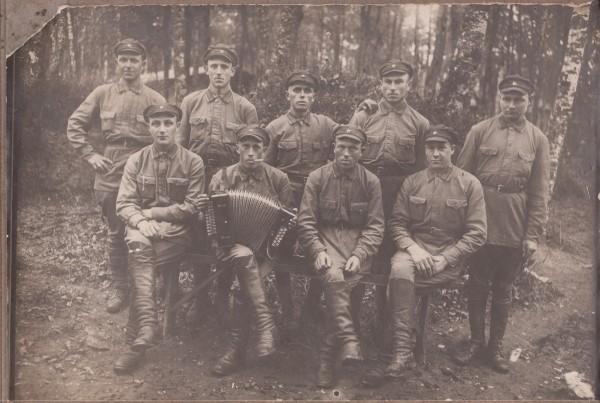 2.Фёдор Алексеевич Бебнев на срочной службе. Конец 1920-х – начало 1930-х годов.