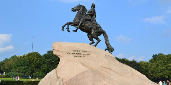 Петербург, город, Медный всадник