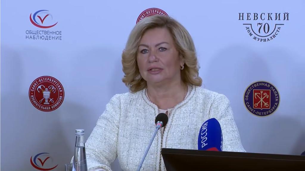 Глава Горизбиркома Наталья Чечина рассказала о том, как стартовали выборы в Петербурге